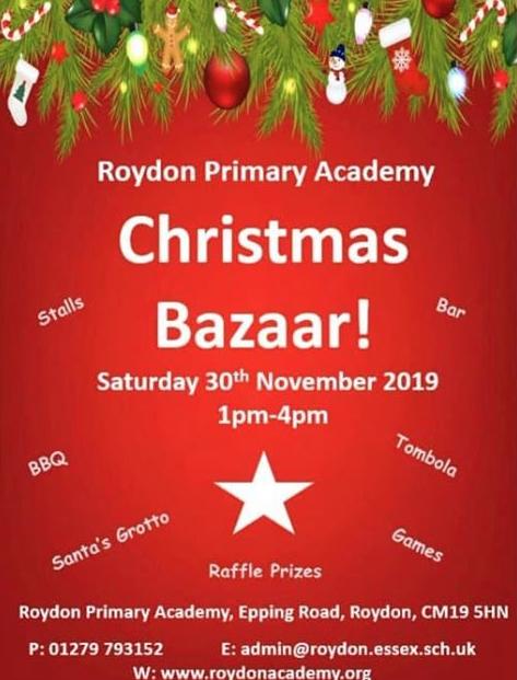Roydon Primary Academy Christmas Bazaar