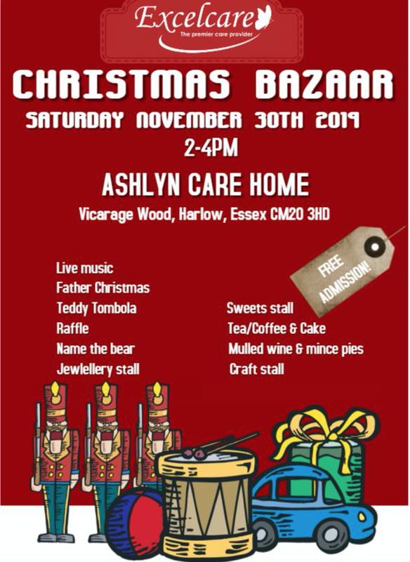 Ashlyns Care Home to host Christmas Bazaar