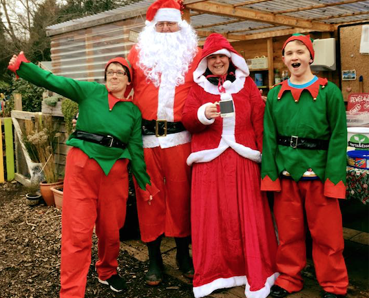Festive Fun at the Herts and Essex Community Farm