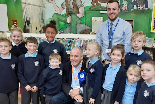 Harlow school holds session on politics and democracy