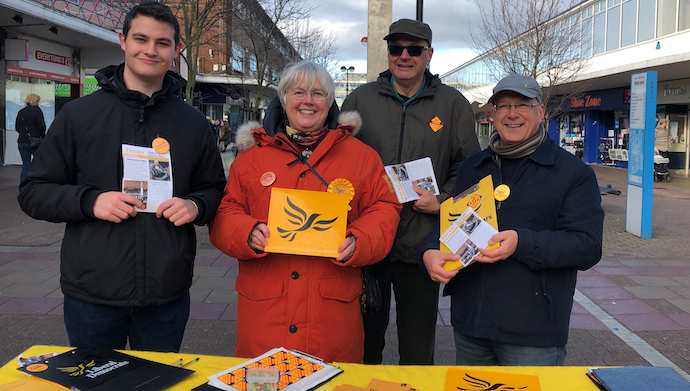 GE19: Lib Dem candidate made of stern stuff as campaign heats up