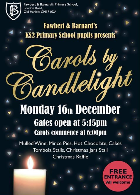 Fawbert and Barnard Primary set to hold Carols by Candlelight
