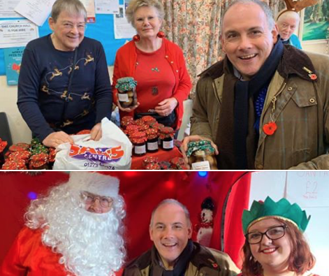 Harlow Conservative candidate Robert Halfon visits number of events in the community