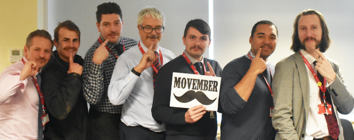 Burnt Mill teachers are among top Movember supporters