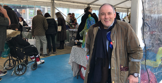 GE19: Robert Halfon makes the final push as General Election Day looms