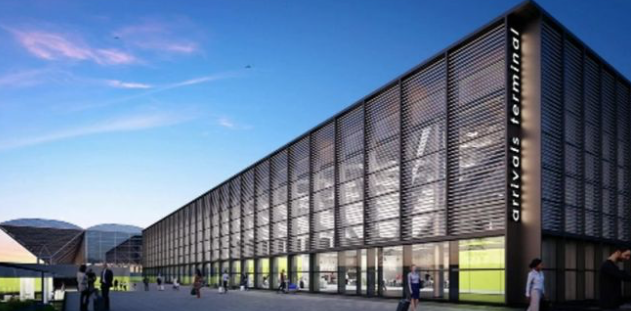 Stansted Airport put its new £150m arrivals terminal on hold