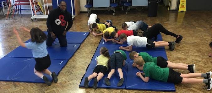 Potter Street Academy pupils inspired by former international basketball player