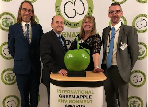 HTS Harlow staff win top environmental award