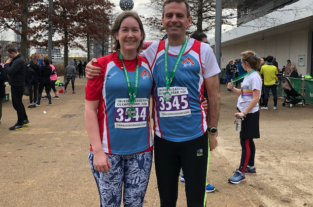 Athletics: No ordinary run by Mr and Mrs Smith