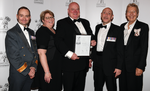 Essex Highways wins award for employing serving and former forces personnel
