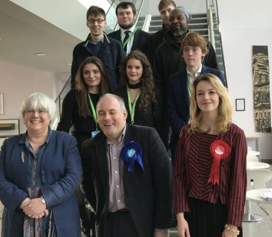 GE19: Harlow College students grill General Election candidates