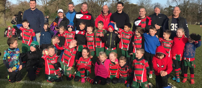 Harlow Rugby youngsters receive a warm welcome from UK Power Networks