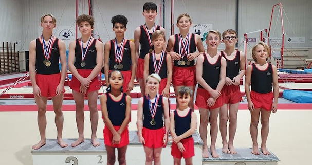 Gymnastics: Medals galore for Harlow boys at East Region Men's Recreational Competition
