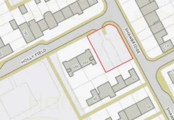 Objections to parking spaces in Shawbridge
