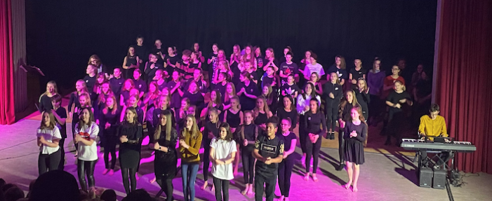 Musical school talents showcased at school performance