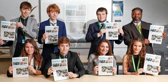 Harlow students publish newspaper