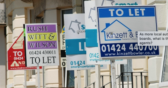 As more local authorities ban sales boards, what is the next move for estate agents?