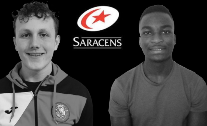 Rugby: Two Harlow youngsters selected for Saracens Development Squad