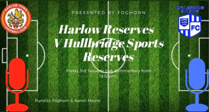 Football: Harlow Reserves kick off a new year