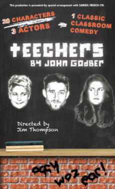 Harlow Playhouse: Teechers are on the timetable