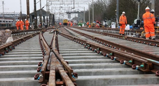 Harlow rail passengers thanked after major infrastructure upgrades over the festive period