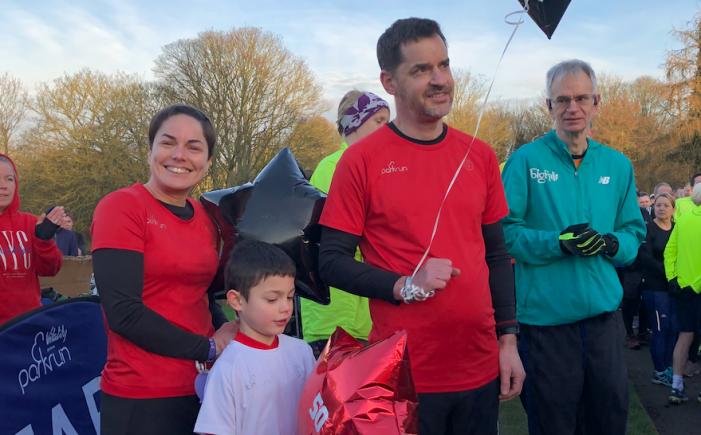Record numbers take part in Harlow parkrun