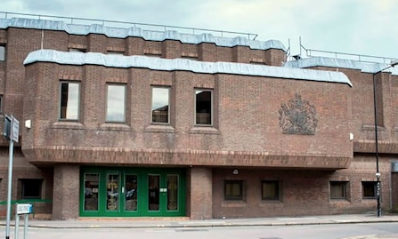 Man set to stand trial over threatening to burn down Harlow police station.