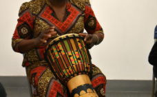 Harlow Playhouse: African Storytelling with Drums with Efua Sey