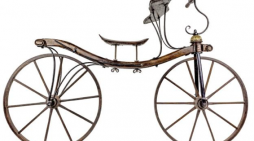Rare bicycle from Harlow Museum wheeled off to Knutsford for repair