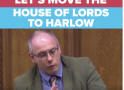 MP Robert Halfon calls House of Lords to be moved to Harlow