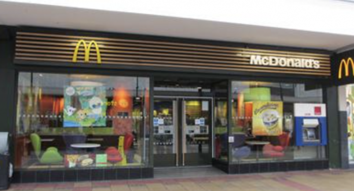 Appeal after girl sexually assaulted in town centre McDonalds