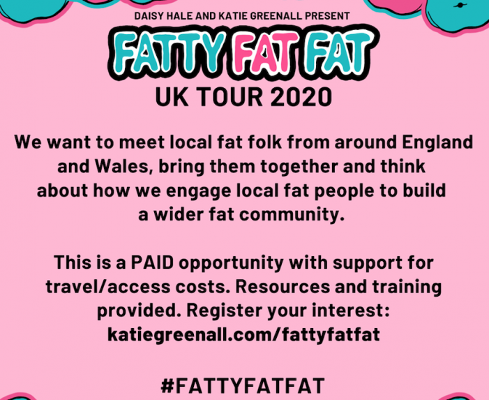 Fatty Fat Fat want to hear from you