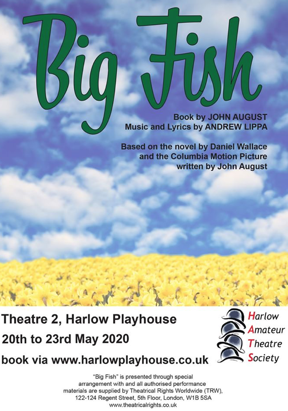 Harlow Playhouse: Big Fish Launch Night