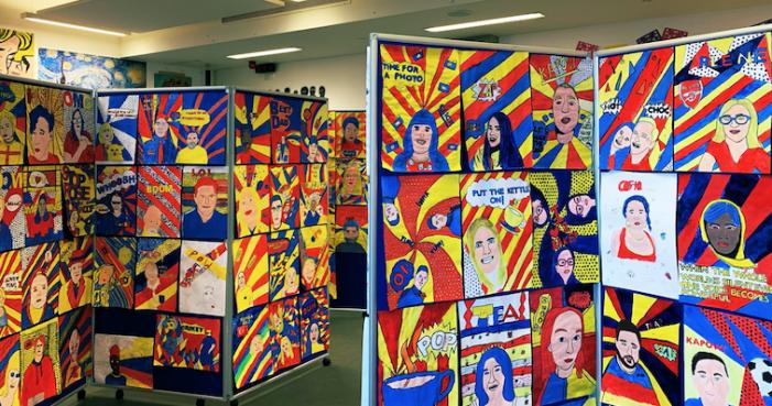 Passmores Academy art students produce stunning exhibition