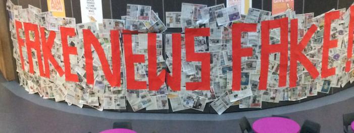 Passmores students explore 'Fake News' phenomenon