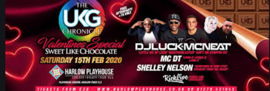 Harlow Playhouse to host UK Garage Valentines Special