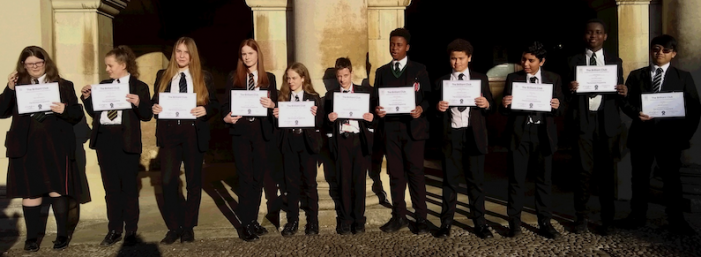 Brilliant Burnt Mill teenagers graduate from Cambridge University project.