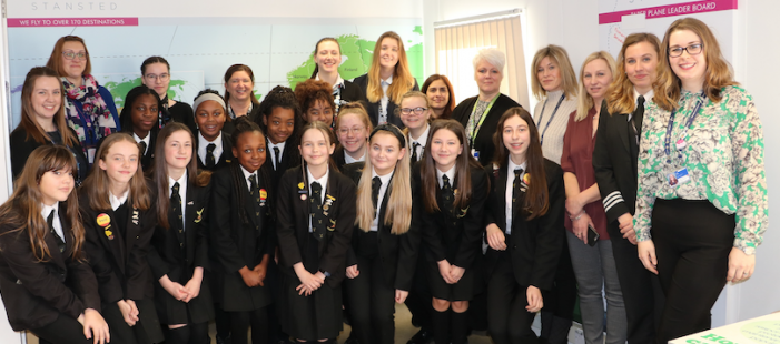 London Stansted celebrates 'Women and Girls in Science' day with special STEM event for Harlow students