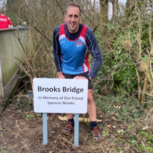 Kind-hearted Harlow businessman donates sign for Brooks Bridge