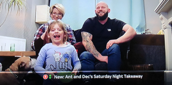 Kind-hearted Keira rewarded with a holiday live on Ant and Dec's Saturday Night Takeaway