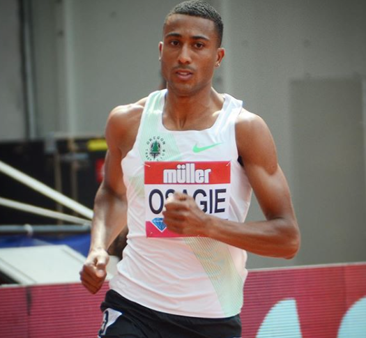 Athletics: Osagie grabs silver in UK Indoor Champs
