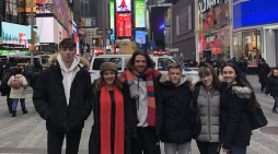 Passmores Academy students attend Earth Summit in New York City