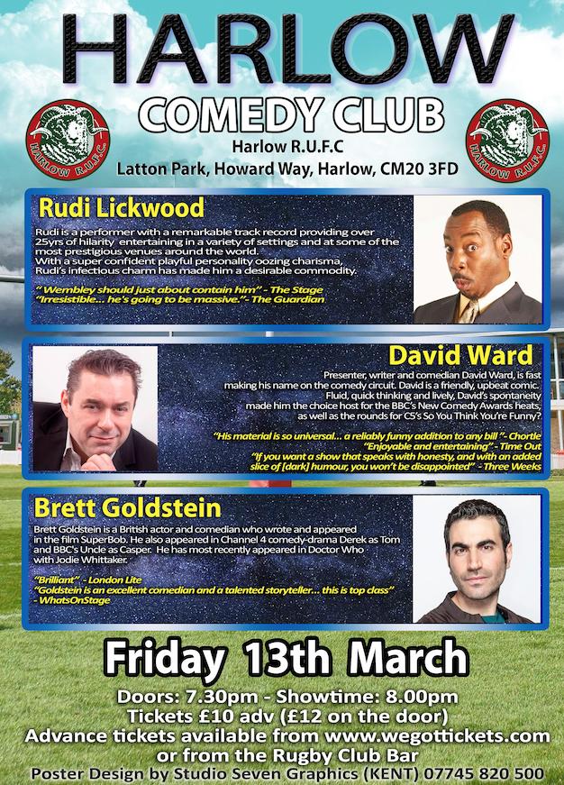 Harlow Comedy Club returns to Latton Park