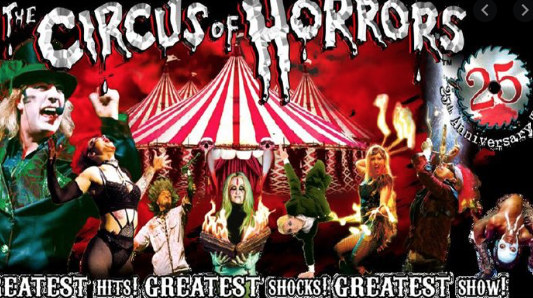 Circus of Horrors will amaze at the Harlow Playhouse