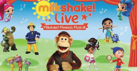 Milkshake! Live – Milkshake Monkey's Musical