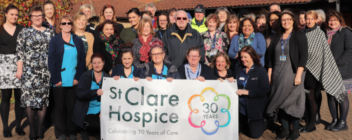 St Clare Hospice rated 'Outstanding' by national inspectors