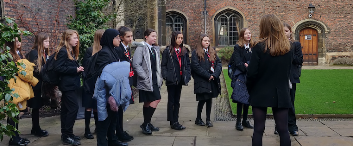 Studies into Greek myths took curious students on a tour of Cambridge University.