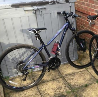 Number of bicycles stolen in Harlow Town Centre