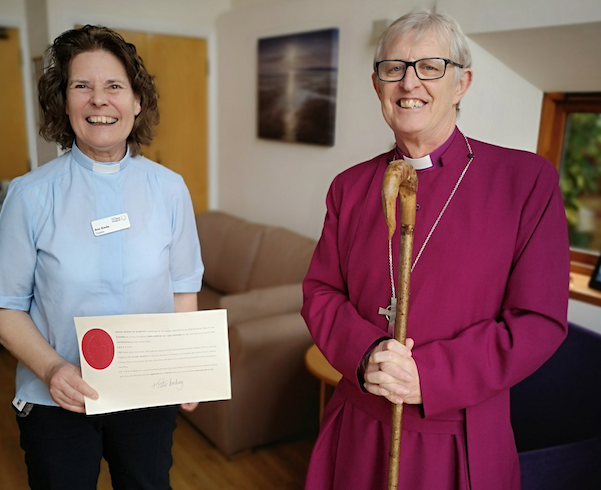 St Clare Hospice welcomes new Chaplain, Ann, to their team