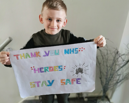 Harlow primary school pupils thank our NHS heroes